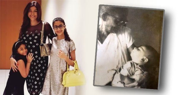 Sushmita Sen Shares Her Childhood Photo alongside her Great Grandma before Mother's Day