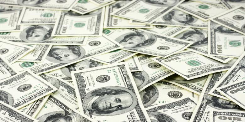 Ilustrasi dollar AS