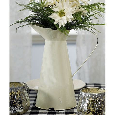 French Provincial Style Enamel Pitcher [977 9253 French