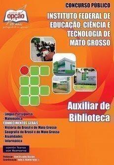 APOSTILA concurso IFMT AUXILIAR DE BIBLIOTECA