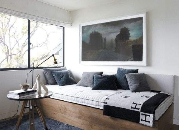 Day Bed  Hermes Blanket