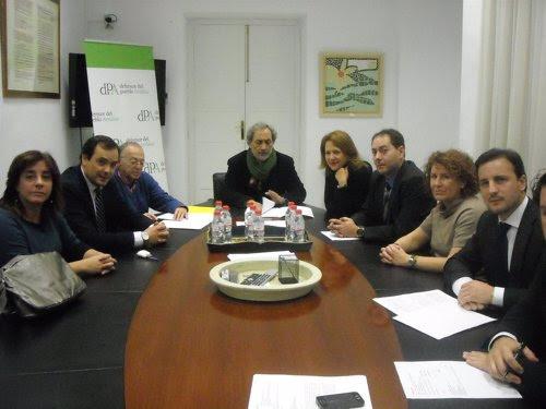 Reunión de abogados del turno de oficio con el defensor del pueblo, José Chamizo