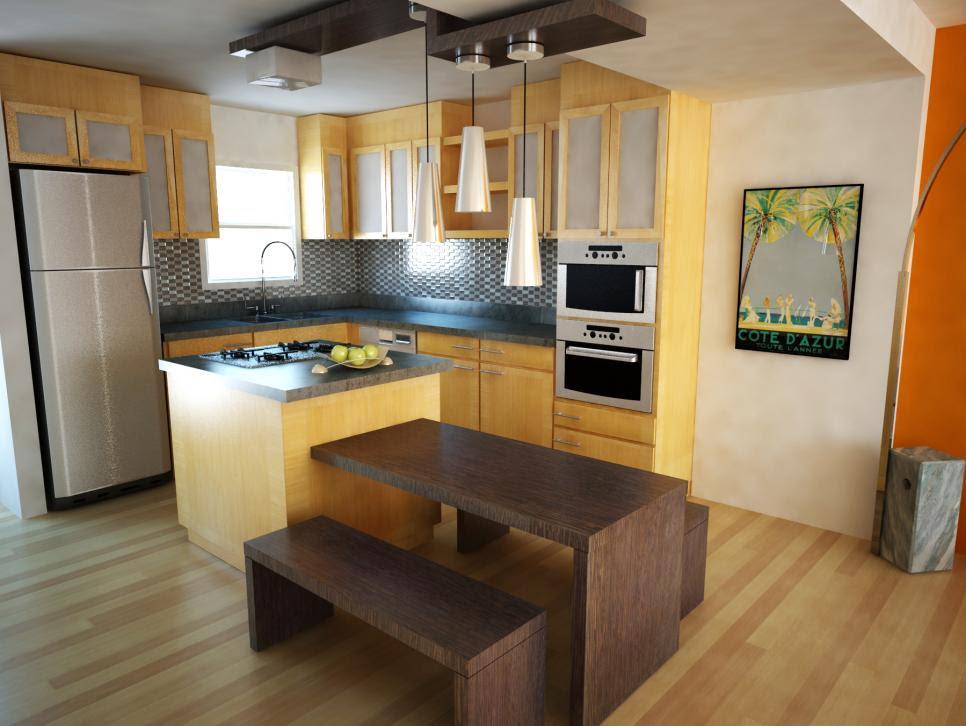 Small Kitchen Design Ideas | HGTV