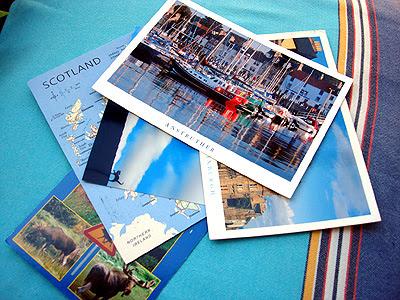 Postkarten-Grüsse vom 29.7.09