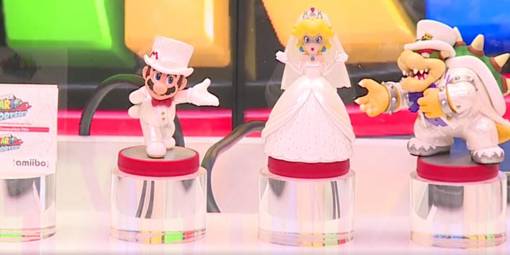 Super Mario Odyssey wedding amiibo confirmed screenshot