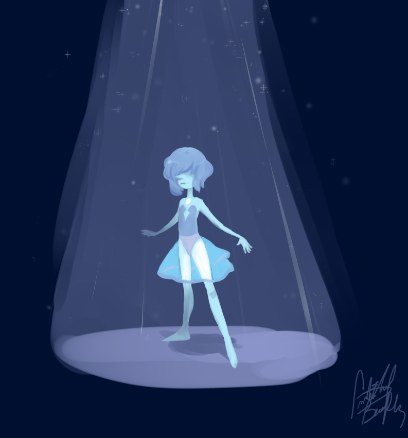 The Blue Diamond's Pearl