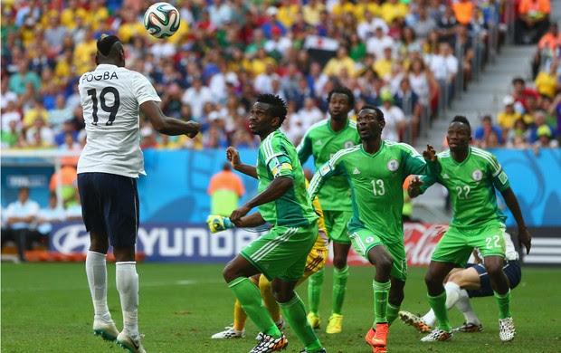 Pogba gol França x Nigéria (Foto: Getty Images)