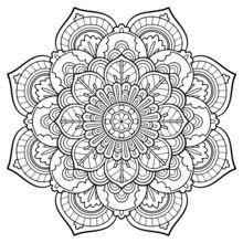Dibujos Para Colorear Mandala Vintage Eshellokidscom