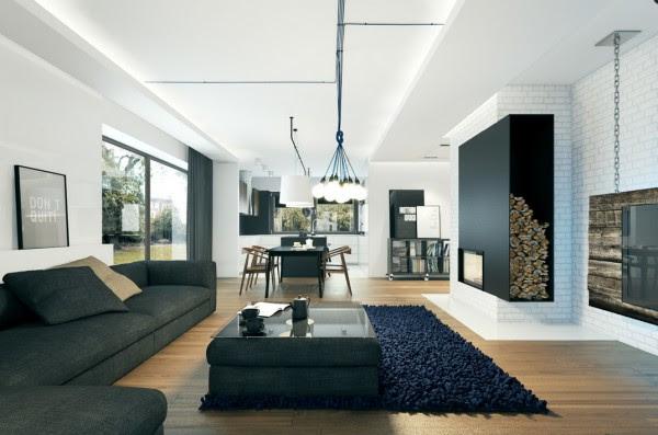 large modern sofa