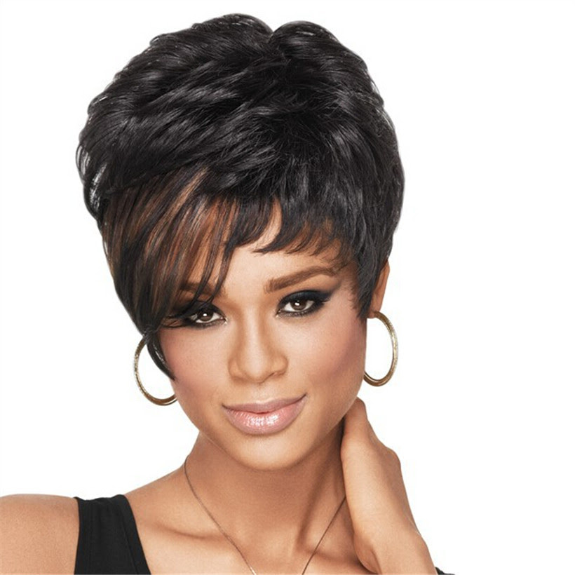 Natural Wig African American Short Hairstyles Wigs for
