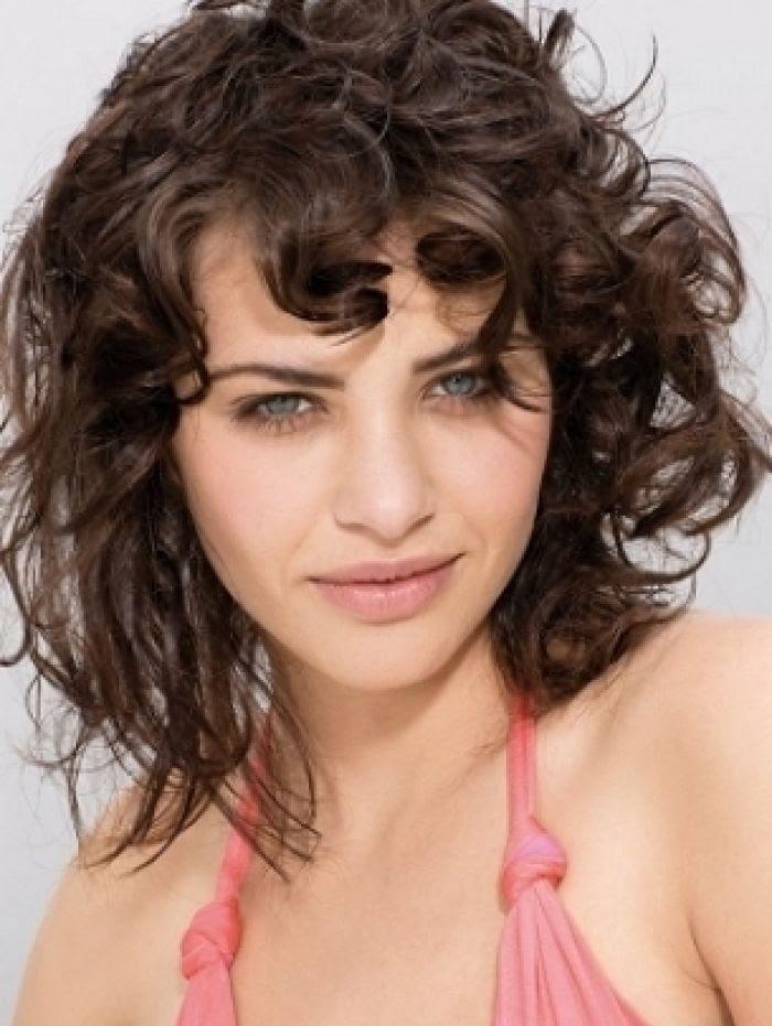 29 Short Hairstyles Curly Thin Hair