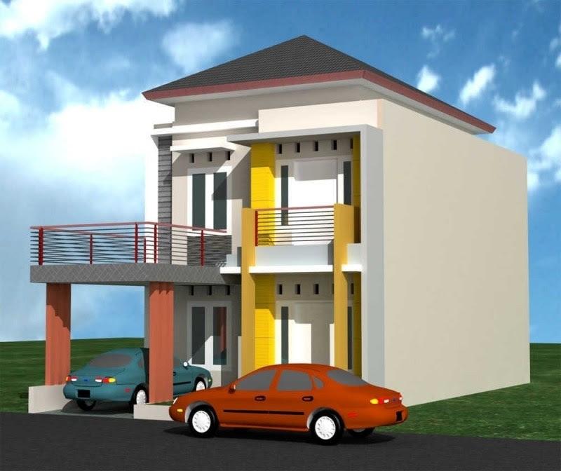 Desain Rumah Minimalis Modern 2 Lantai Tampak Depan with Model Rumah Sederhana Minimalis 2