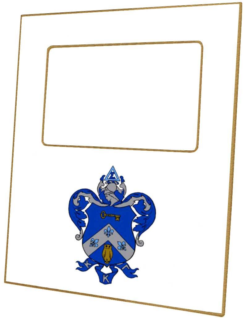F2180 Kappa Kappa Gamma Sorority Picture Frame