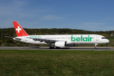 Belair Airlines (flybelair.com) Boeing 757-2G5 HB-IHR (msn 29379) ZRH (Rolf Wallner). Image: 907597.