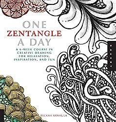 One Zentangle a Day by Beckah Krahula