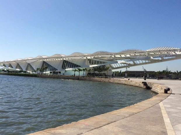O Museu do Amanhã, um dos mais novos do Rio, atende a vários itens de acessibilidade (Foto: Alba Valéria Mendonça/ G1)