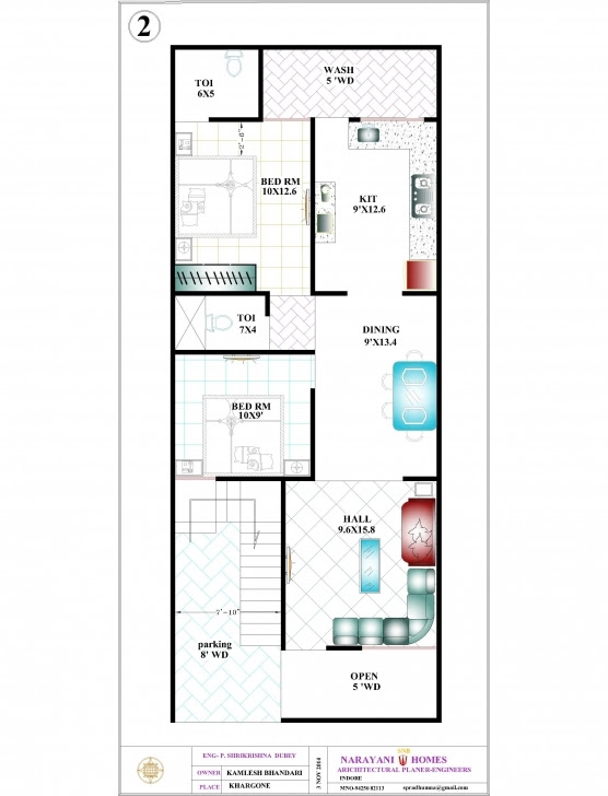 Great Home Idea Blog Ifi Home Design 20 50 20 By 50 House Plans Pic