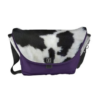 Purple Cowhide Look rickshawmessengerbag