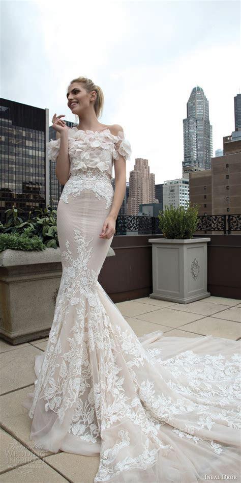 "Inbal Dror Fall Wedding Dresses 2016 ""New York"" Colletion"