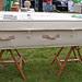 A woollen coffin