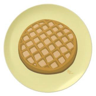 Waffle Plate plate