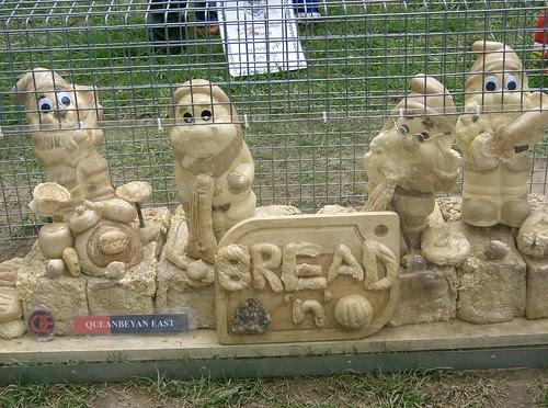 Bread gnomes @ Floriade