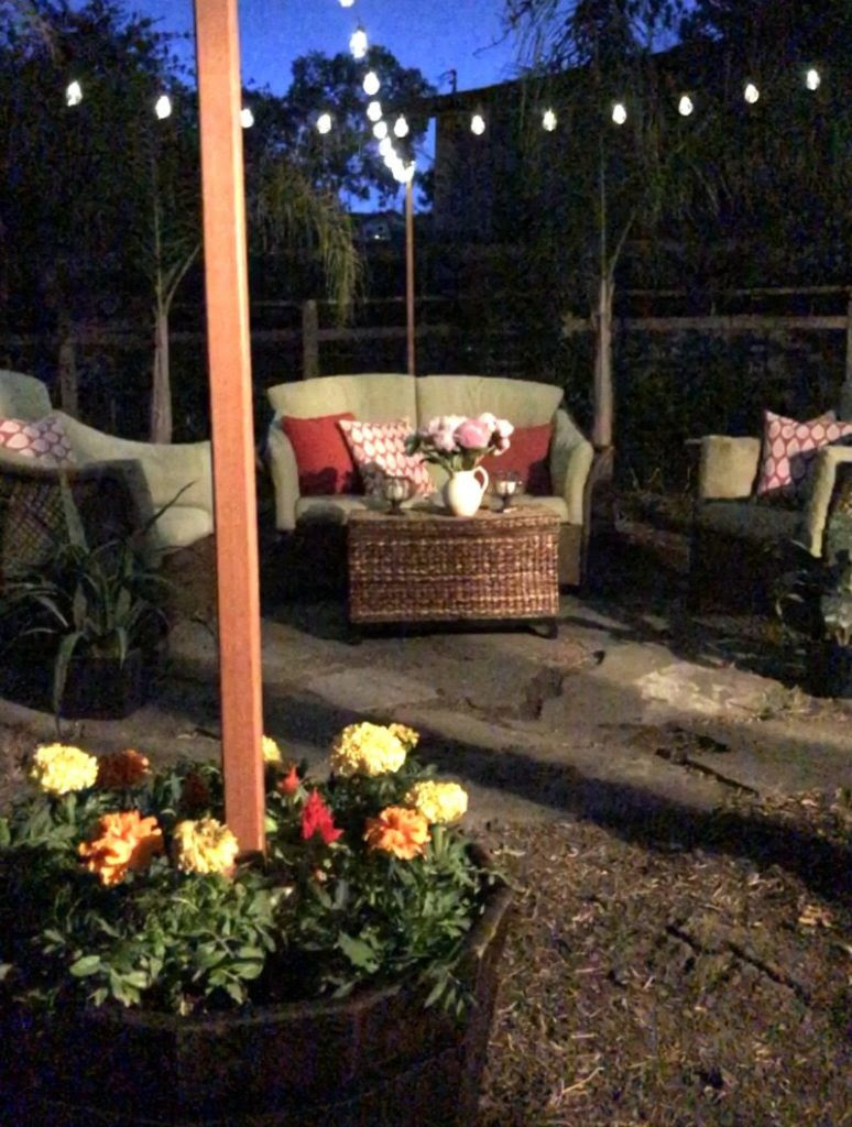 How to Hang Outdoor String Lights Video and Easy Tutorial ...