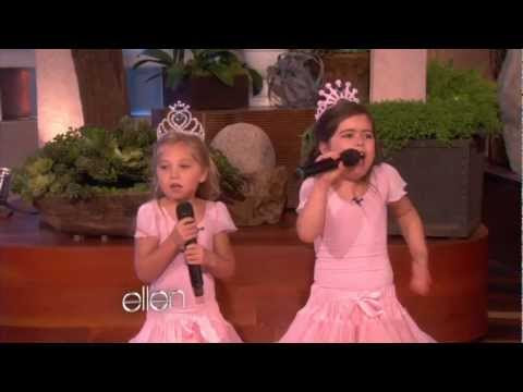 Amazing little girls
