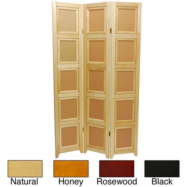 Wooden 3 Panel Double Sided Photo Frame Room Divider China