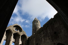 The Cathedral and the Round Tower, Rock of Cashel, Tipperary