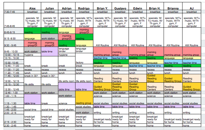 Schedules, schedules, and more SCHEDULES! - The Autism Helper