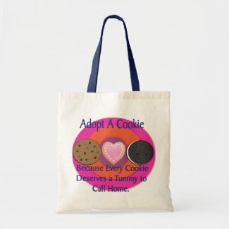 Adopt a Cookie Bag bag