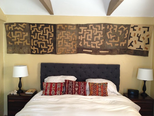 Kuba applique textile, wall mounted