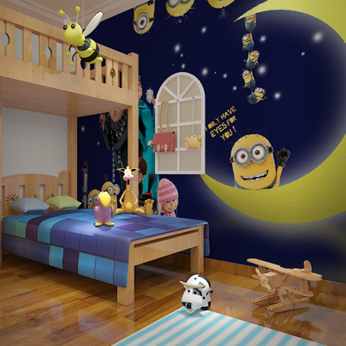 Gallery For gt; Cartoon Bedroom Background Boys