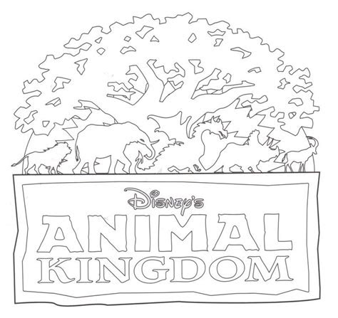 disney animal kingdom coloring pages coloring pages