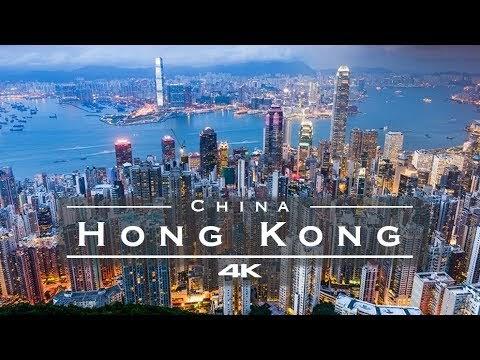Hong Kong, China by Drone