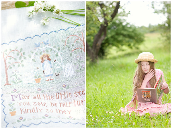 Garden Girl ( Country Cottage Needleworks)