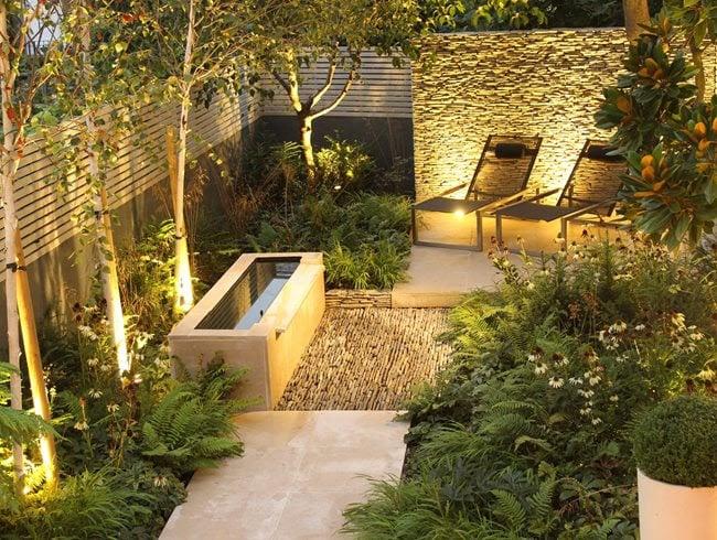 Small London Garden   Garden Design