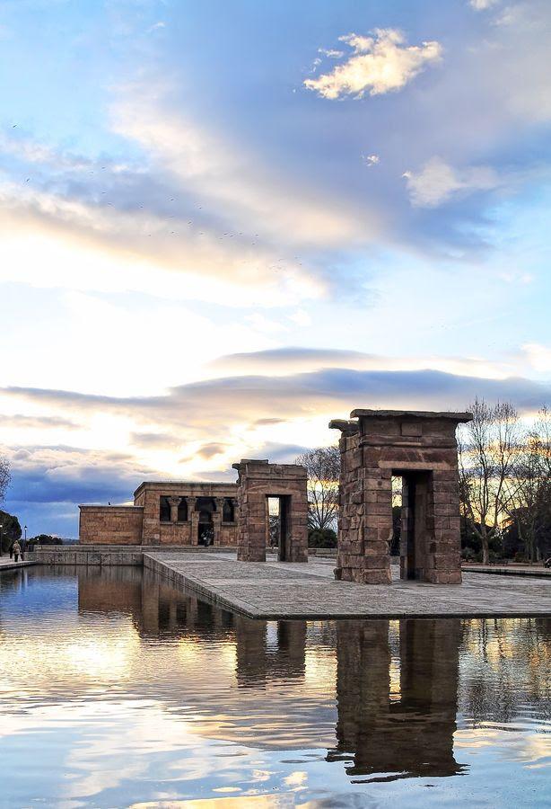 """""""Templo de Debod Madrid"""" by Miguel A. Andrés,"""