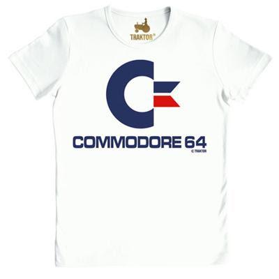 Camiseta Commodore 64