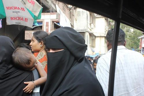 Kurla West Bazar Is A Sea Of Burkhas by firoze shakir photographerno1