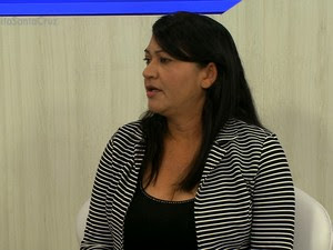 Prefeita de Santa Cruz, Eliane Soares (Foto: Reprodução/ TV Grande Rio)