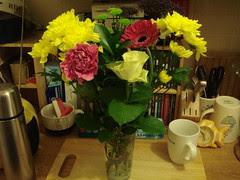 Flowers from Jo & Jake!