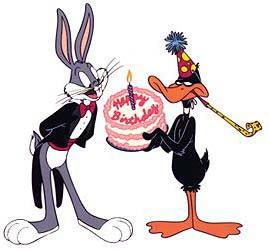 Happy birthday con Bugs Bunny