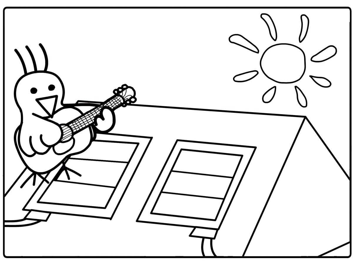 Güneş Enerjisinin Faydalari Boyama Sayfasi 1 Okul öncesi