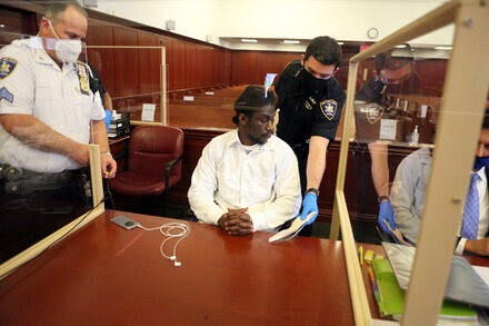 Last year, New York City courts held 800 criminal trials. This year? Nine.