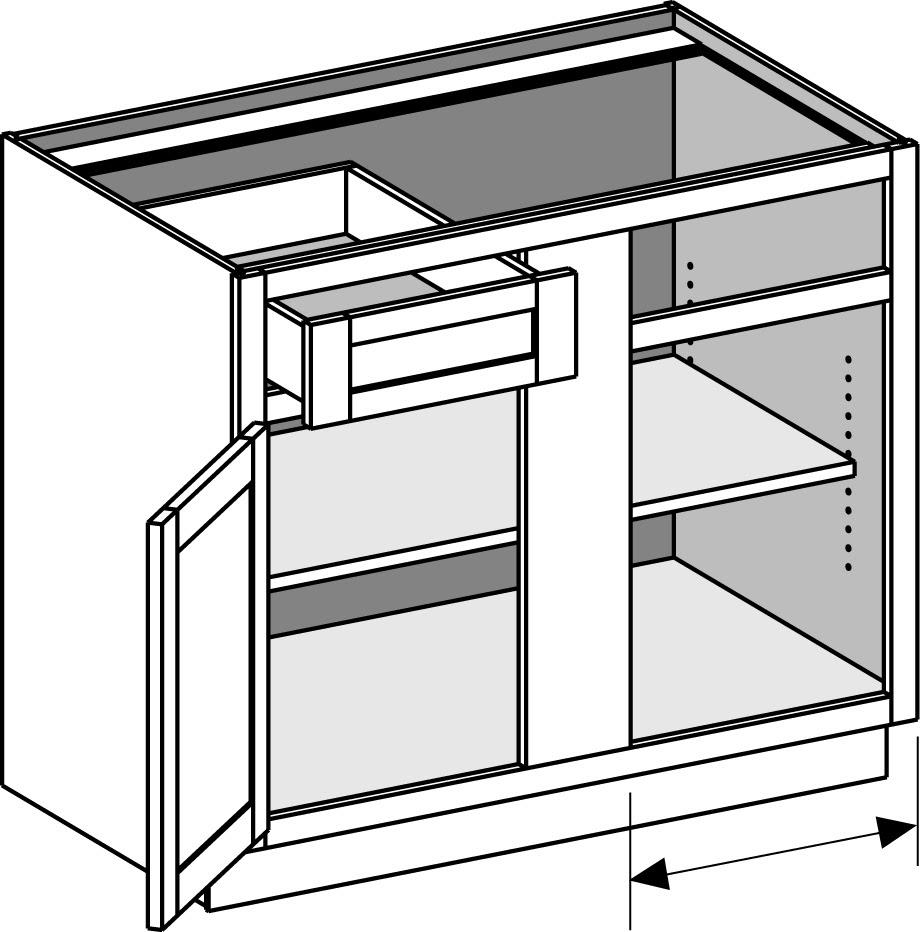 Base Blind Corner Cabinet - The Cabinet Joint