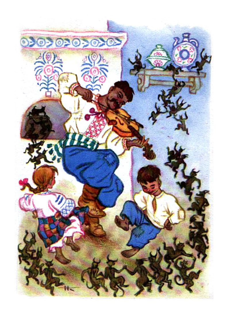 Nicolai Kochergin - открытка ЗЛЫДНИ изд.1963