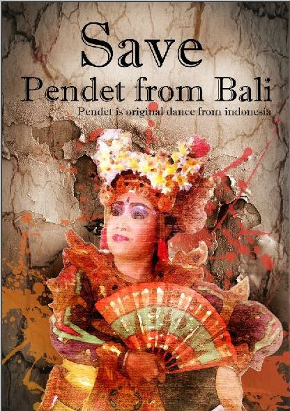 Pendet - Traditional Dances From Bali Indonesia