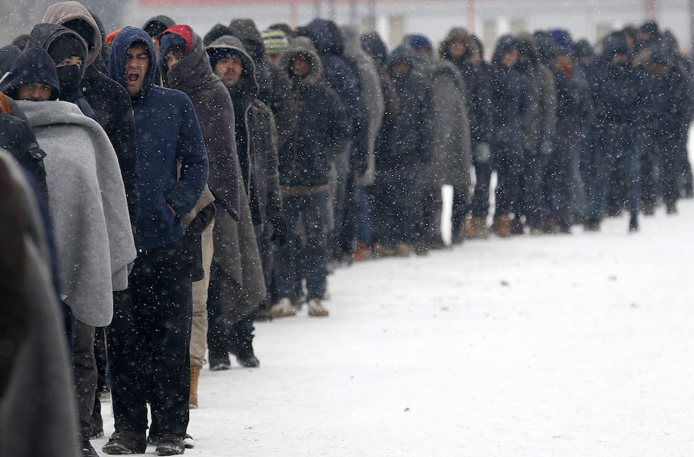 Serbia Europe Migrants Weather